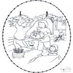Jule-malesider - X-mas stitchingcard 9