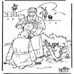 Bibel-malesider - Zalving David